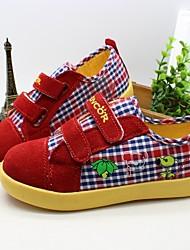 Mocasines ( Rojo / Beige ) - Comfort - Tejido