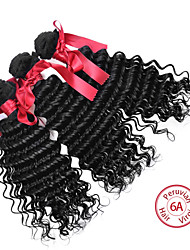 EVET Peruvian Loose Wave Virgin Human Hair 3 Bundles Extensions Pervian Virgin Hair Weaves Loose Wave Hair Free Shipping
