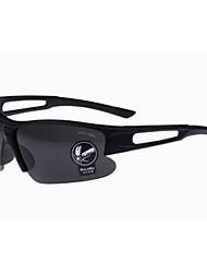 Gafas de Sol hombres's Clásico Envuelva Negro / Marrón / Azul Gafas de Sol Media Montura