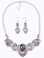 Yoonheel Alloy / Zircon Jewelry Set Set Daily / Casual 1set