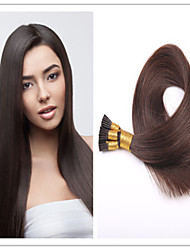 "Cheap TOP Quality Brazilian Virgin Pre-bonded Hair Keratin I Tip Hair Extensions 18""-28""1G/S 100G/PC 1Pc/Lot In Stock"