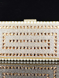 Handbag Satin/Crystal/ Rhinestone/Metal/Sparkling Glitter Evening Handbags With