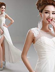 Princess Floor-length Wedding Dress -Jewel Chiffon