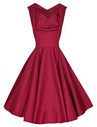 vestito da partito Hepburn dell'annata delle donne (blends)