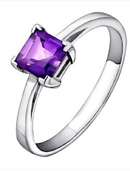 Flammable Volcanic Authentic Natural Amethyst Ring SR0079A