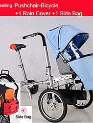 Comfort Bike / Folding Bike Cycling 16 Inch Women's Double Disc Brake Steel / Aluminium Alloy Red / Yellow / Blue