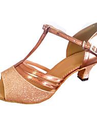 Женская обувь - Искусственная кожа/Мерцающая отделка Разноцветный ) - Латино/Современный танец/Сальса/Обувь для стандартной программы