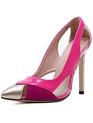 Stiletto - 10-12cm - Damenschuhe - Pumps/Heels Weiß/Pfirsich )