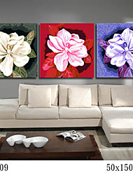 DIY Digital Oil Painting With Solid Wooden Frame Family Fun Painting All By Myself Camellia 7009