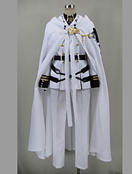 Inspired by Seraph of the End Cosplay Anime Cosplay Costumes Cosplay Suits Patchwork Shirt Top Skirt Belt Stockings For Female