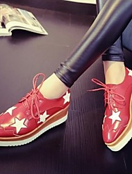 Astrider Women's Shoes Black/Red/White Wedge Heel 3-6cm Fashion Sneakers