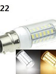 9W E14 / G9 / GU10 / B22 / E26/E27 LED-maissilamput 48 SMD 5630 1400-1800 lm Lämmin valkoinen / Kylmä valkoinen KoristeltuAC 100-240 / AC