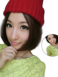 Natual Realistic Wigs Bob Wig Bangs Pelucas Sex Products Synthetic Hair Wig Femme Anime Cheap Cosplay Wigs