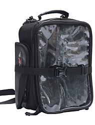 pro-biker borsa da serbatoio moto borsa da turismo avventura base magnetica (nera)
