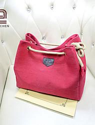 handcee® venda quente nova tela mulher popular do grande tamanho de bolsas de lona