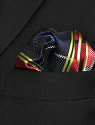 Cravate & Foulard Travail Rayonne,Homme A Carreaux