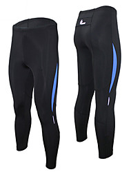 WEST BIKING® Men Stretch Tight Pants For Sports And Athletics Training Ride Fast Dry Pants Legs Nine Points