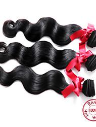 EVET Malaysian Body Wave Virgin Hair Extensions 3pcs/lot 6A Human Hair Body Wave Weave Bundles Free Shipping