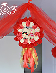 Original Designs Latest Marriage Room Decoration Shaman Curd Sets