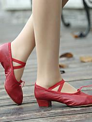 Женская обувь - Кожа - Номера Настраиваемый (Черный/Розовый/Красный) - Обувь для практики