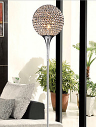 Spherical 40W Crystal Floor Light Modern Creative Floor Lamp Send E27 Bulb