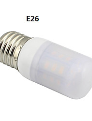 E26/G9/GU10 3.6W 27x5730SMD 400LM 3000~3500K Warm White Light LED Corn Frosted Cover bulb AC 110V~120V