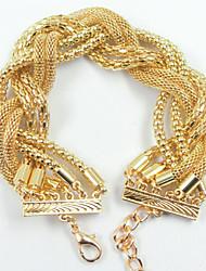 Lucky Doll Women's All Matching Gold Bracelet