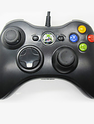 kinghan® usb wired controlador de game pad para xbox 360 microsoft& pc windows magros