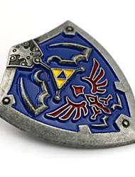 Gioielli Ispirato da The Legend of Zelda Cosplay Anime/Videogiochi Accessori Cosplay Distintivo / Spille Blu Lega Uomo