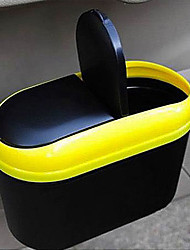Automotive Interior Waste Bin Multi-Functional Portable Folding Hanging Trash Rack Receive Vehicle Garbage