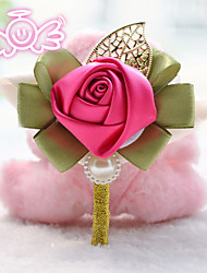 Roses Silk Corsage