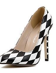 Zapatos de mujer - Tacón Stiletto - Tacones - Tacones - Casual - Semicuero - Negro