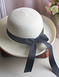Wide Band Bow Visor Hat