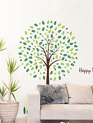 стены стикеры стены наклейки стиль Счастливые лесные наклейки ПВХ стены