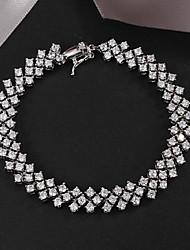 caldo vendita di prodotti del partito placcato collegamento / braccialetto chain design classico
