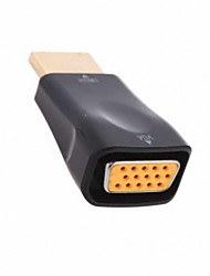 Cwxuan™ High Speed HDMI V1.4 Male to VGA Female Video Converter Adapter