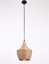 Rope Pendant Lights Mini Style Country
