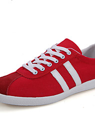 Men's Shoes Outdoor Linen Fashion Sneakers Red/Gray/Beige