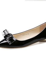 Women's Shoes Flat Heel Comfort Flats Outdoor Black/Red