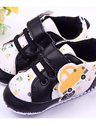 Zapatos de bebé - Sneakers a la Moda - Casual - Semicuero - Negro / Azul