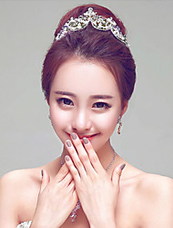 Korean Style Rhinestones Wedding/Party Headpieces/Headbands with Imitation Pearls