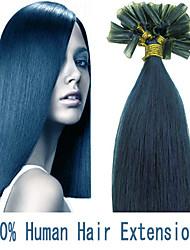 3 Satz 22inch remy Nagelspitze Haar 0,6 g / s Echthaar Haarverlängerungen 17 Farben für Frauen Schönheit