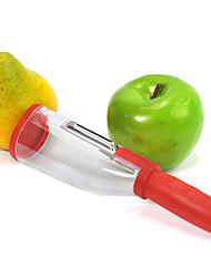 cylindre éplucheur conteneur de déchets de fruits sans gâchis et légumes éplucheur (couleur aléatoire)