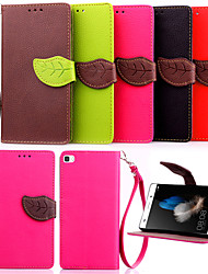 High Quality Wallet Card Holder PU Leather Flip Case Cover for Huawei P8 Lite /P8/G6/G7/Y550(Assorted Colors)