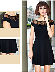 CNB            Women's Vintage/Sexy/Casual/Lace/Party Dresses (Knitwear)