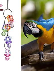 FUN OF PETS® Acrylic Nipple-shaped Chewing Lot for Birds