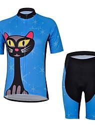Women's Short Sleeve Bike Jersey + Short Sets Cycling Clothing