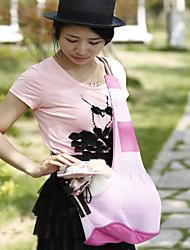 Cat / Dog Carrier & Travel Backpack Pet Carrier Portable Red / Black / Green / Blue / Pink / Purple Terylene
