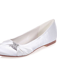 Women's Shoes Satin Flat Heel Round Toe Flats Wedding/Party & Evening Shoes More Colors available
