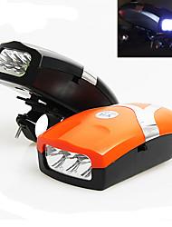 Велосипедные фары / Передняя фара для велосипеда LED - Велоспорт с рогом Люмен Батарея Велосипедный спорт